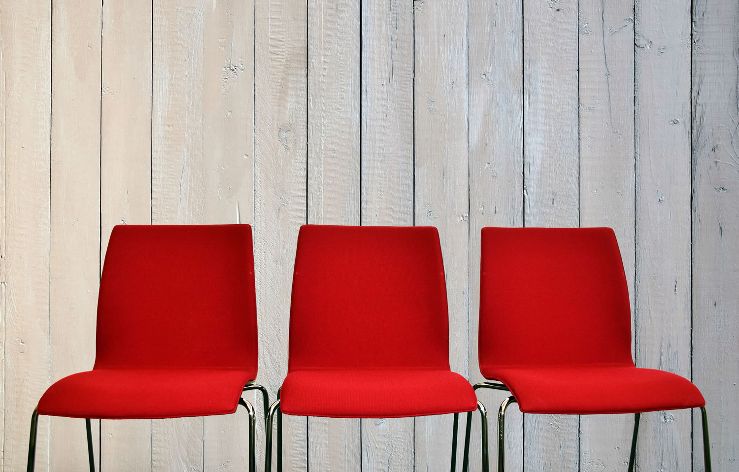 Red Chairs Wallpaper Mural