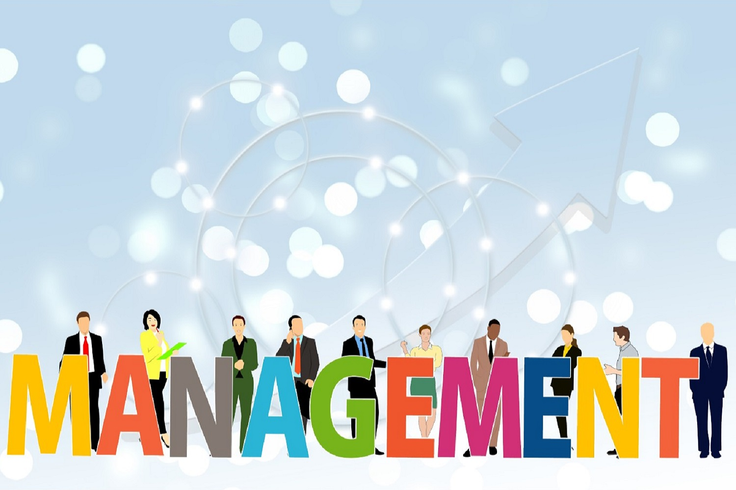 Management Wallpaper Mural