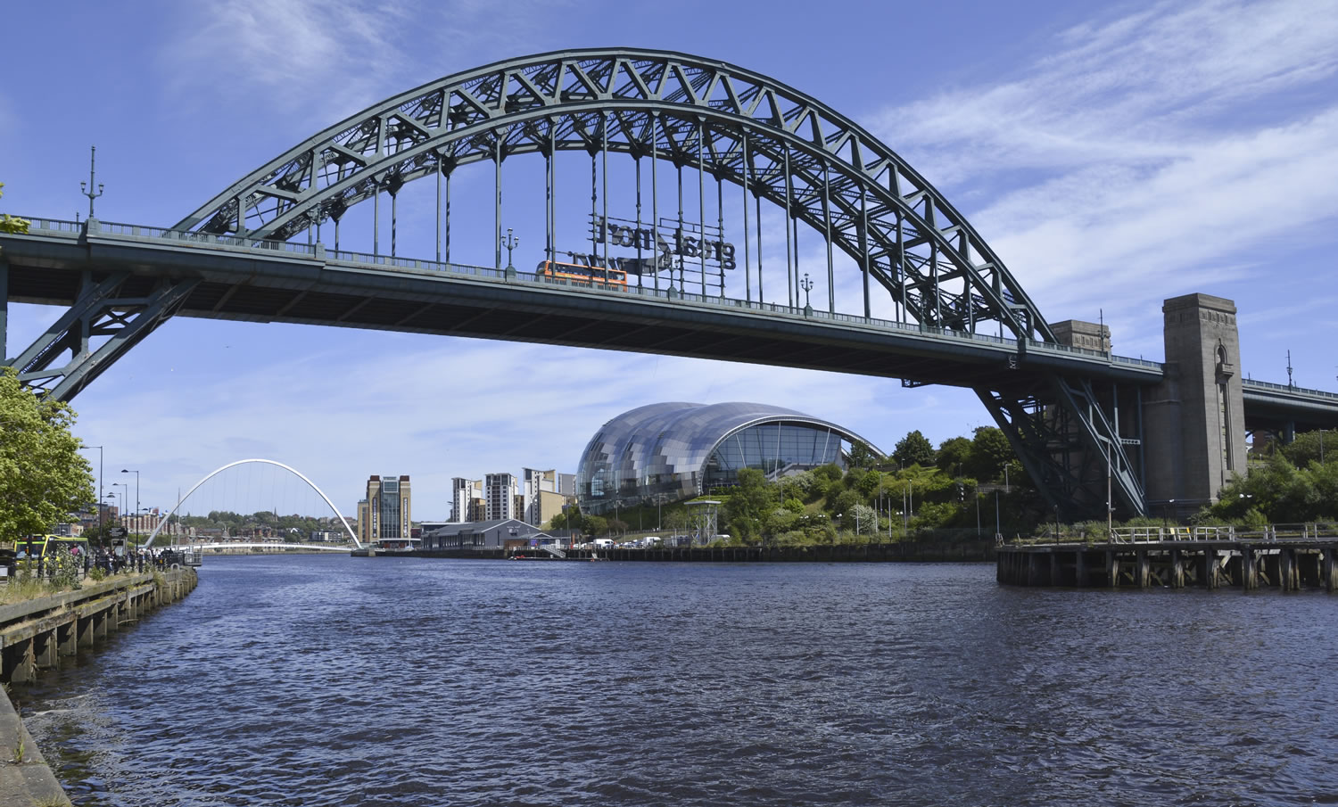 Tyne Bridge Wallpaper Mural