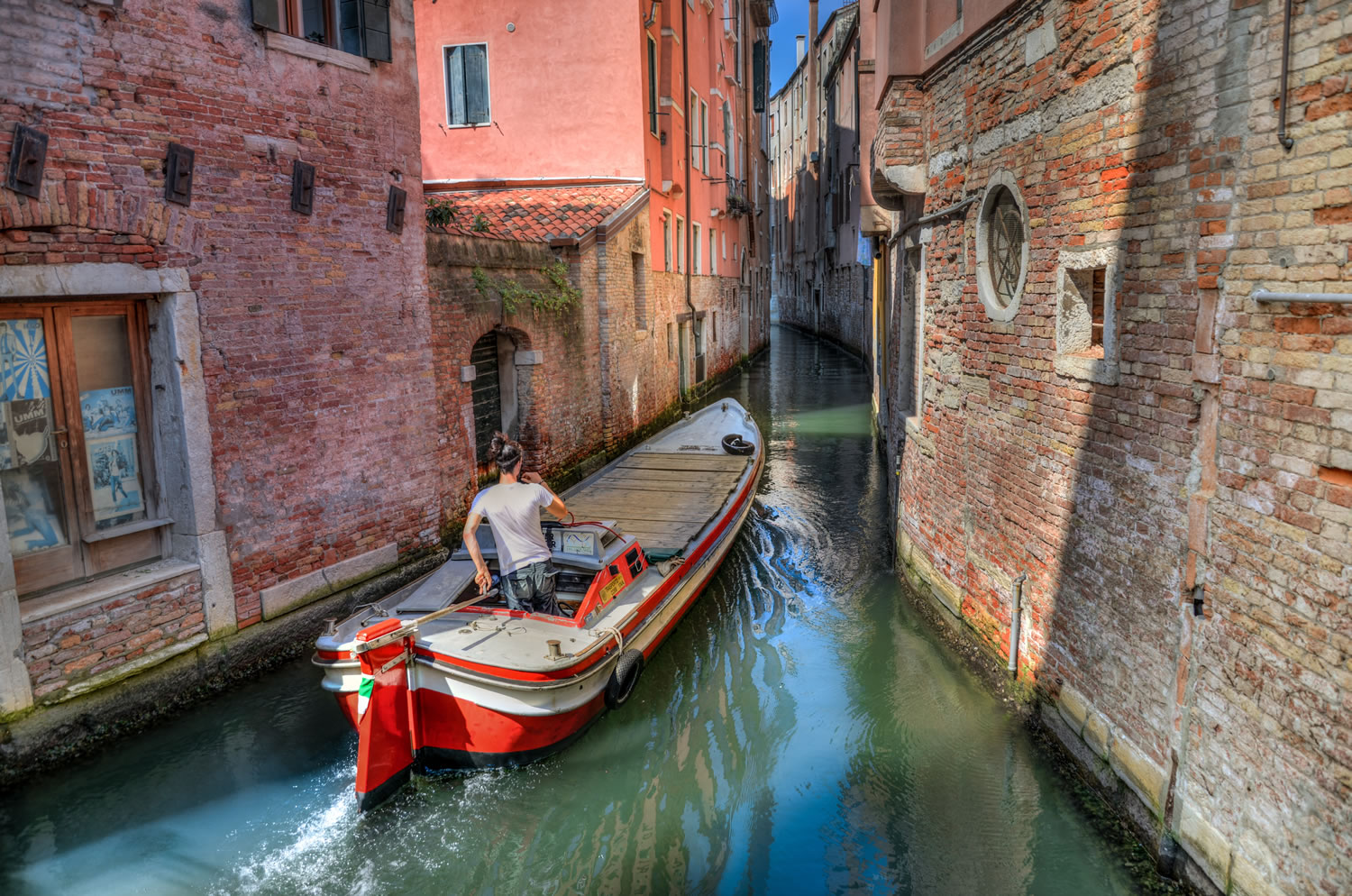 Venice Waterway Wallpaper Mural