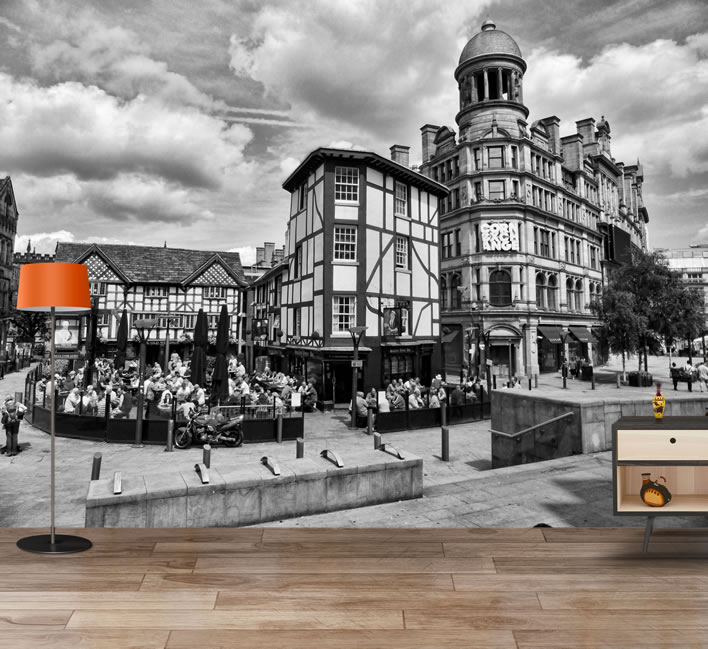 Bring Manchester's landmarks into your living room with these lifelike wallpapers, The Manc
